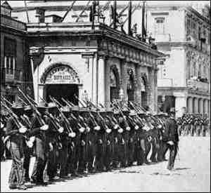 U.S. Troops in Cuba circa 1902